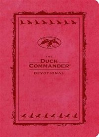 The Duck Commander Devotional Pink LeatherTouch