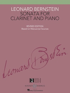 Sonata For Clarinet And Piano: Revised Edition Book Only