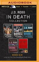 J. D. Robb In Death Collection 4: Portrait in Death, Imitation in Death, Divided in Death, Visions in Death, Survivor in Death