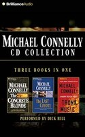 Michael Connelly CD Collection 2: The Concrete Blonde, The Last Coyote, Trunk Music