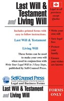 Last Will & Living Will (forms Only): Write you Last Will