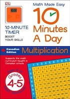 Math Made Easy 10 Minutes A Day Multiplication Grade 3 To 5