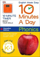 English Made Easy 10 Minutes A Day Phonics Kindergarten