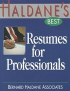 Haldane's Best Resumes For Professionals
