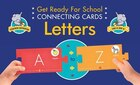 Get Ready For School Connecting Cards: Letters