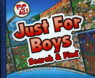 Fun For All Just For Boys Search & Find