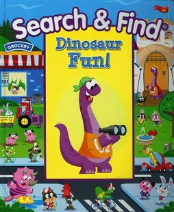 My First Search& Find Dinosaurs