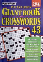 Penny Press Giant Bk Of Crosswords 43