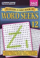 PUZZLERAES JUMBO BK OF WORD SEEKS NUM12