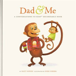 Dad & Me Recordable Conversation Book