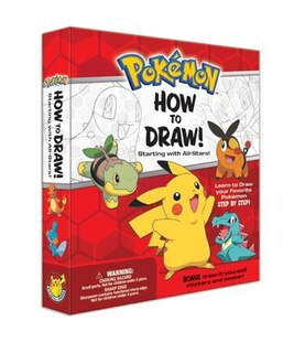 Pokemon How-to-Draw Kit: Starting with All-Stars!