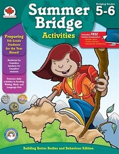 Canadian Summer Bridge Activities - Grade 5 & 6