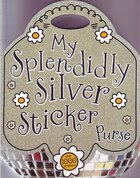 MY SPLENDIDLY SILVER STICKER PURSE