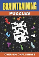 384PP SPIRAL PUZZLES BRAIN TRAINING