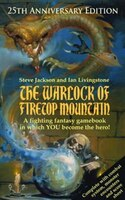 Fighting Fantasy Gamebook #1 Warlock Firetop Mountain 25th Annive