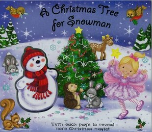 XMAS TREE FOR SNOWMAN BUILD A SCE
