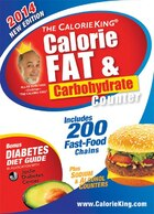 The Calorieking Calorie, Fat & Carbohydrate Counter 2014: Larger Print Edition