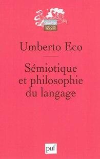 Sémiotique et philosophie du langage [nouvelle édition]