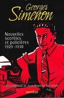 Nouvelles secrètes et policières t 1 1929 1938
