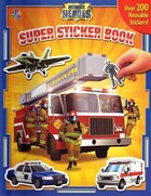 Super Sticker Book - Ultimate Heroes