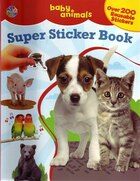 Super Sticker Books Baby Animals