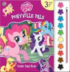 Poster Paint Books My Little Pony Ponyville Pals