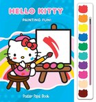 POSTER PAINT BKS HELLO KITTY PAINTING