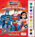 POSTER PAINT BKS DC SUPERFRIENDS