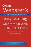 Collins Webster's Easy Learning - Grammer And Punctuation