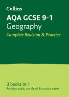 Aqa Gcse Geography All-in-one Revision And Practice (collins Gcse 9-1 Revision)