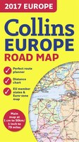 2017 Collins Map Of Europe