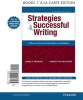 Strategies For Successful Writing, Books A La Carte Edition