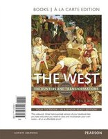 The West: Encounters And Transformations, Volume 2, Books A La Carte Edition