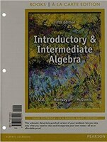 Introductory And Intermediate Algebra, Books A La Carte Edition