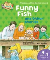 Oxford Reading Tree Read With Biff, Chip, and Kipper:  Level 1 Phonics and First Stories Funny Fish and Other Stories