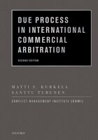 Due Process In International Commercial Arbitration