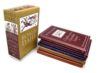 Roald Dahl 5-book Hc Box Set - Charlie/chocolate Factory, Charlie/great Glass Elevator, Danny Champion Of The World, James/giant P