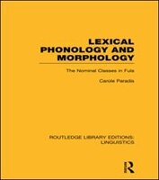 This book presents a description of the phonology and morphology of the nominal class system in Fula, a dialect which displays 21 nominal classes