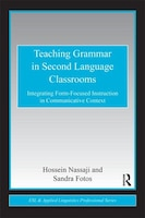 Recent SLA research recognizes the necessity of attention to grammar and demonstrates that form-focused instruction is especially effective when it is incorporated into a meaningful communicative context