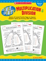 Reach all learners and meet standards with leveled activity sheets that help kids recall facts automatically and find patterns to compute fluently in multiplication and division