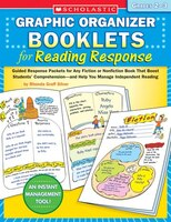 Graphic Organizer Booklets For Reading Response:  Grades 2?3: Guided Response Packets For Any Fiction Or Nonfiction Book That Boos