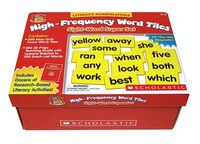 Little Red Tool Box:  High-Frequency Word Tiles:  Sight-Word