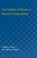 The Stability Of Metals At Elevated Temperatures