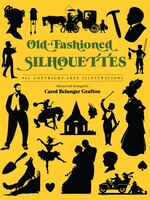 Old-fashioned Silhouettes: 942 Copyright-Free Illustrations