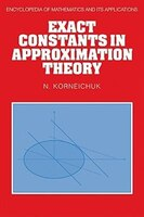 Exact Constants in Approximation Theory