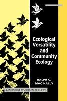 Ecological Versatility and Community Ecology