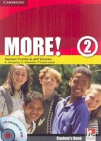 More! Level 2 Students Book with Interactive CD-ROM