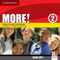 More! Level 2 Class Audio CDs