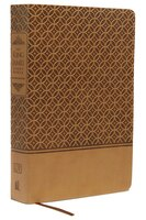 KJV Study Bible, Imitation Leather, Tan, Indexed, Red Letter Edition: Second Edition