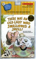 There Was An Old Lady Who Swallowed A Shell!: Book and CD